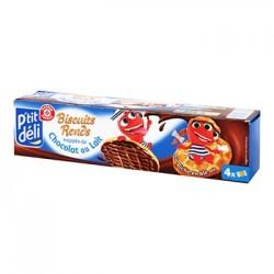 Biscuits P'tit Déli ronds Chocolat lait 200g