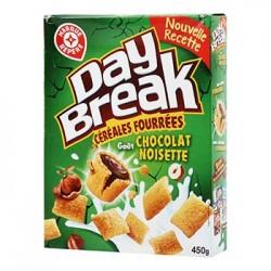 Céréales fourrées Day Break Chocolat noisettes - 450g