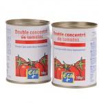 Concentré de tomates Eco+ 2x140g