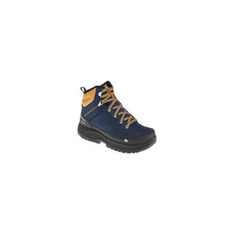 Chaussures de randonnée neige homme SH100 warm mid bleues. QUECHUA