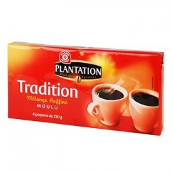 Café moulu Plantation Tradition 4x250g