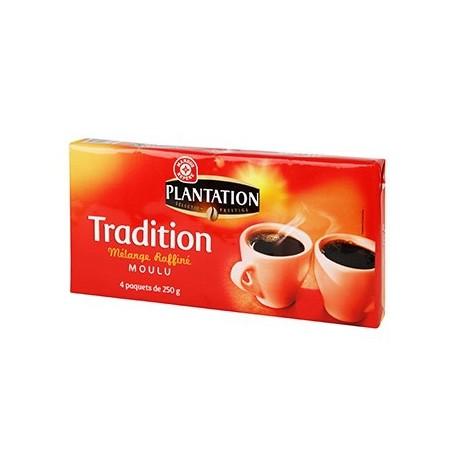 Café moulu Plantation Tradition 4x250g
