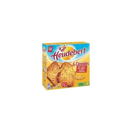 Biscottes Heudebert 6 céréales x34 - 300g